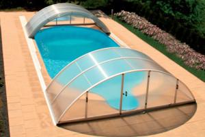 Abris piscine kit telescopiques