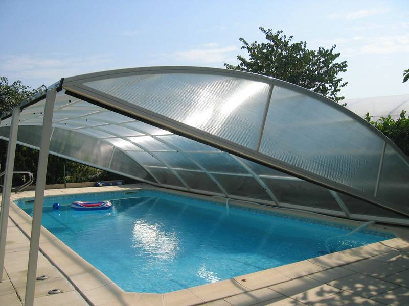 Bache piscine sur mesure et protections piscine for Prix dome piscine